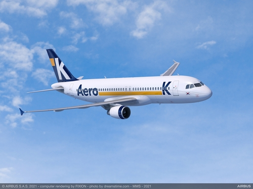 This file photo provided by Airbus shows the A320ceo aircraft. (PHOTO NOT FOR SALE) (Yonhap)