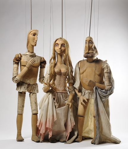 This photo, provided by the Seoul metropolitan government, shows Czech puppets to be on display at the Seoul Museum of History. (PHOTO NOT FOR SALE) (Yonhap)